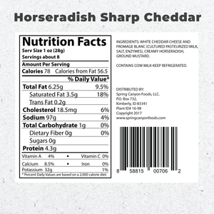 Load image into Gallery viewer, Schmear Horseradish Sharp Cheddar