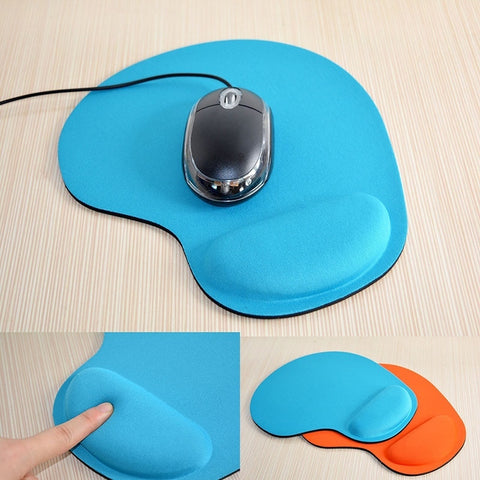Soft Mouse Pad With Wrist Rest Support