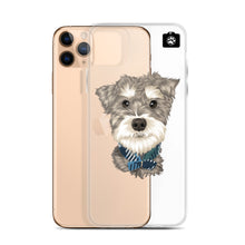 "Load image into Gallery viewer, ""Paddington"" (iPhone Case Minature Schnauzer)"