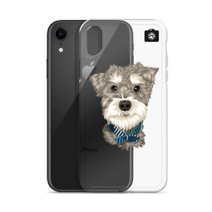 """Paddington"" (iPhone Case Minature Schnauzer)"