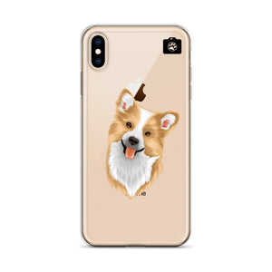 """WINSTON"" (iPhone Case-Welsch Corgi)"