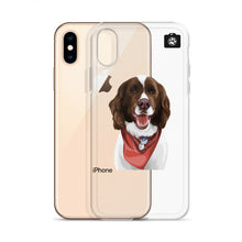 "Load image into Gallery viewer, ""Maxx"" (iPhone Case- English Springer Spaniel)"
