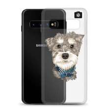 "Load image into Gallery viewer, ""Paddington"" (Samsung Case Miniature Schnauzer)"