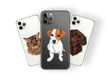 Load image into Gallery viewer, CUSTOM PET Cartoon on any phone