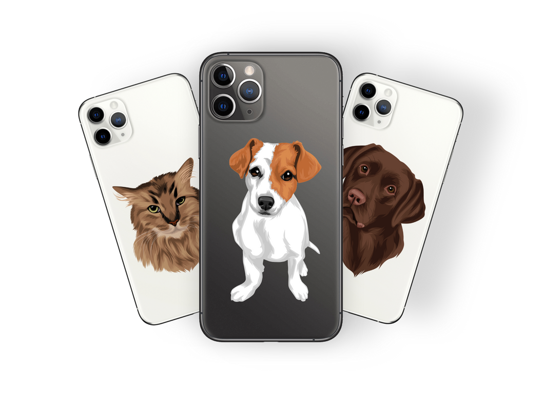 CUSTOM PET Cartoon on any phone