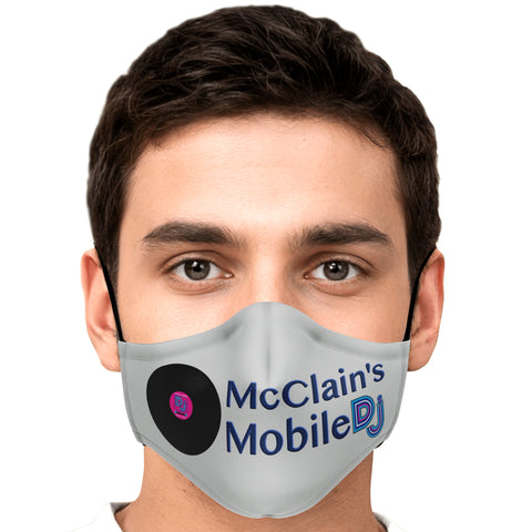 McClain's Mobile DJ Grey Mask - PicBox Company