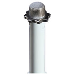 On Stage Round Base Microphone Stand for Yonguno YN360 II - (White) - PicBox Company