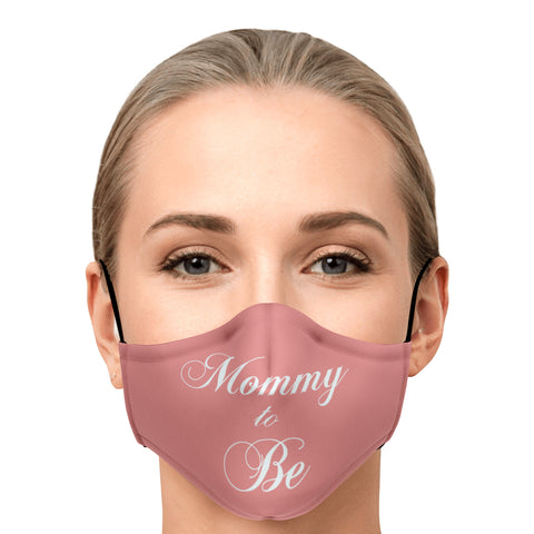 Mommy to Be-Face Mask-Pink - PicBox Company