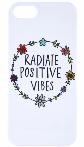 Radiate Positive Vibes Case : Good Vibe Cases