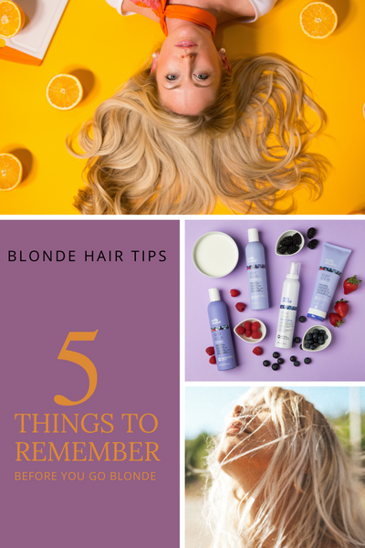 5 Things To Remember Before You Go Blonde