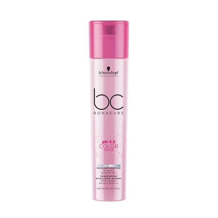 SCHWARZKOPF BC Bonacure Color Freeze Silver Micellar Shampoo - 250 ML