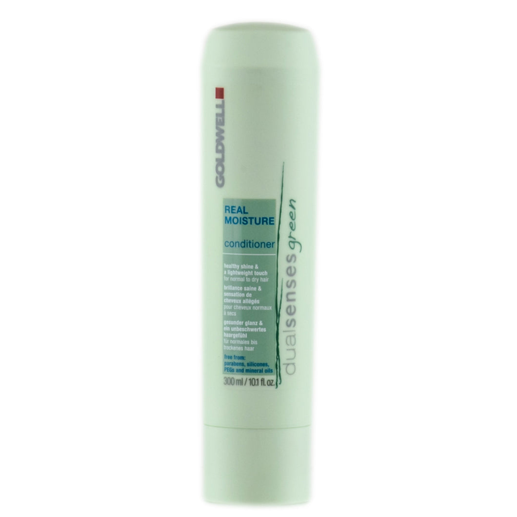 GOLDWELL DUALSENSE GREEN REAL MOISTURE CONDITIONER 300ML