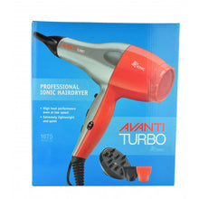 Load image into Gallery viewer, AVANTI TURBO PROFESSIONAL IONIC HAIR DRYER
