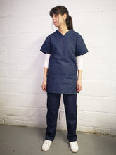 Load image into Gallery viewer, NAVY scrubs tunic