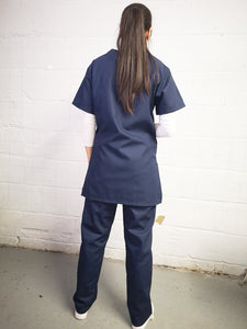 NAVY scrubs trousers
