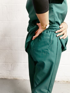 Bottle GREEN tunic and trouser set
