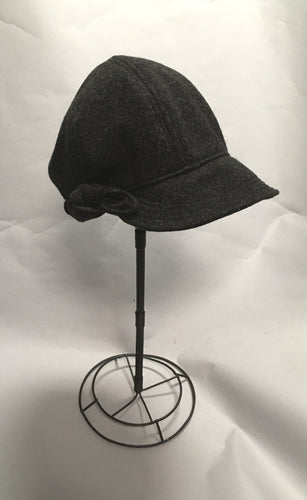 *Women's Charcoal Wool Cap $50 (MRC 1017A)