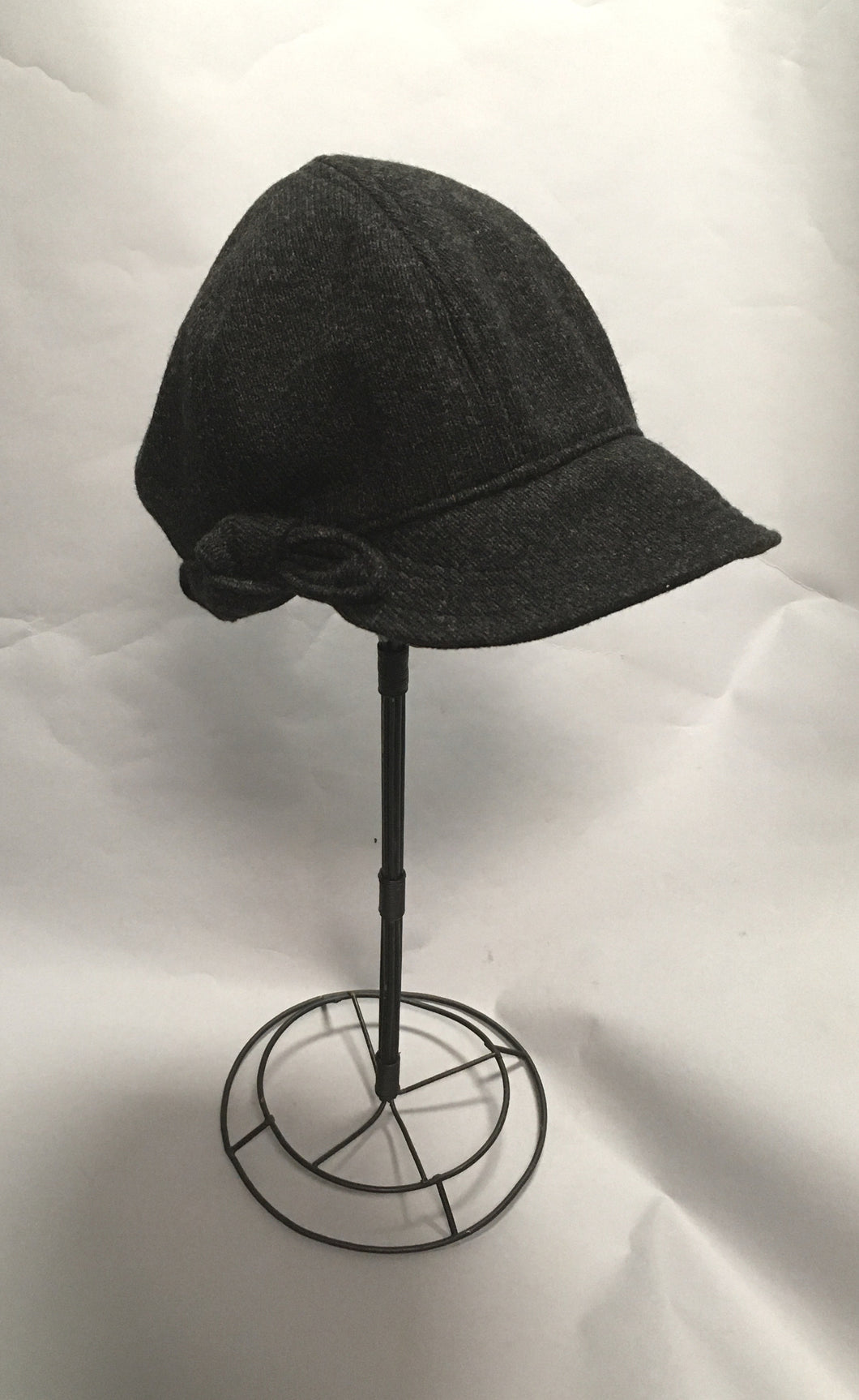 *Charcoal Wool Cap $50 (MRC 1017A)