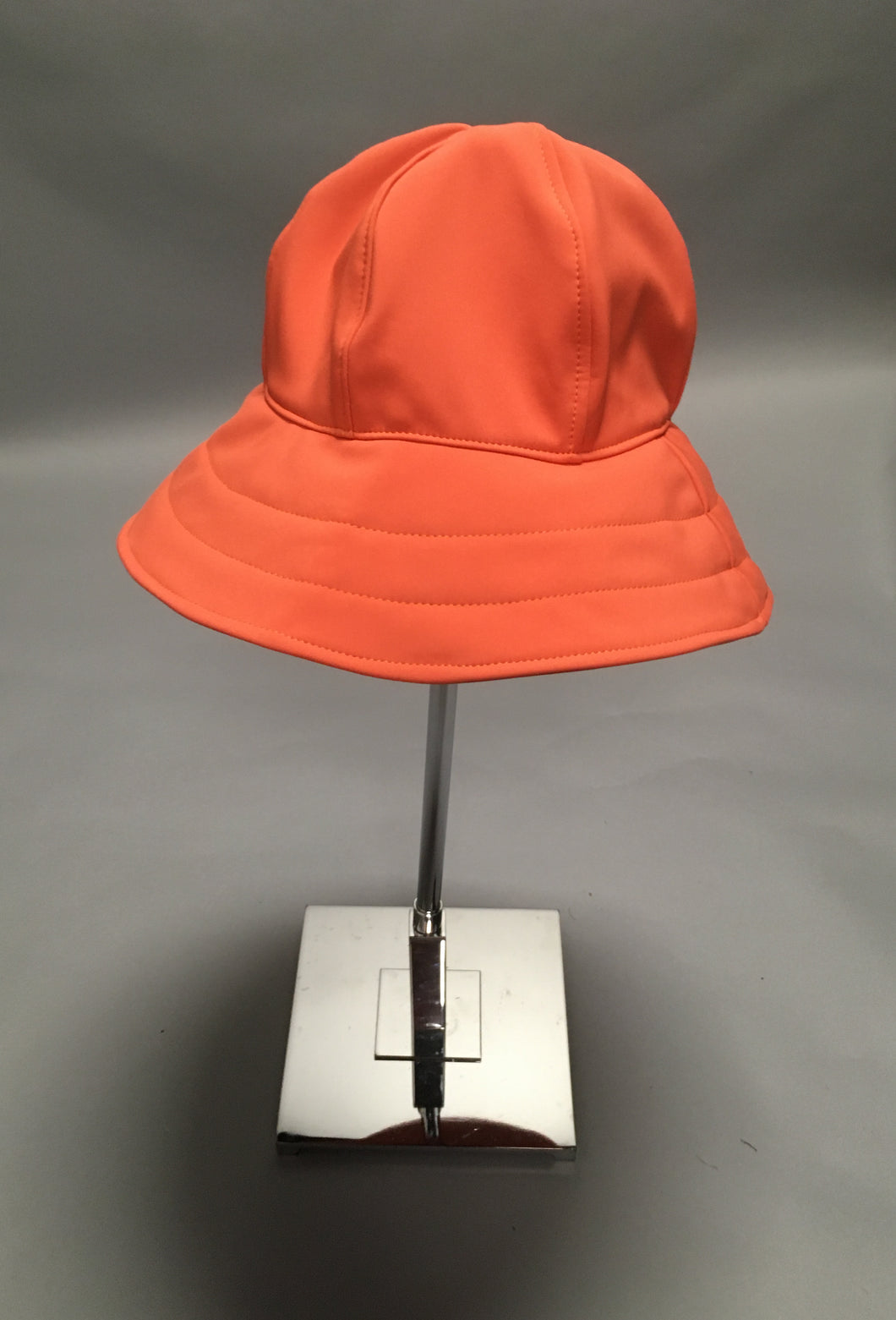 *Coral Waterproof Black Fleece Lined Rain Hat $50 (RH 0919A)