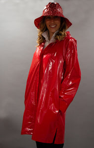 *Red Slicker Zip Hoodie (RZ 0917H)