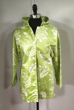 Load image into Gallery viewer, *Lime Zinnia Button Hoodie