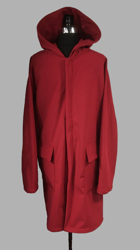 *Men's Malbec Fleece Lined Snap Raincoat (SF0919G)