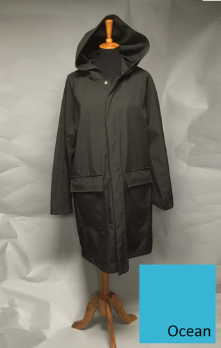 *Men's Ocean Fleece Lined Snap Raincoat (SF0919D)