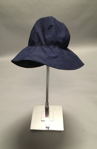 *Navy Lined Rain Hat $50 (RH 0818A)