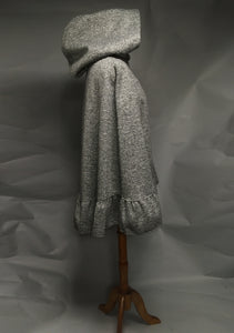 *Salt & Pepper Wool & Fleece Cape