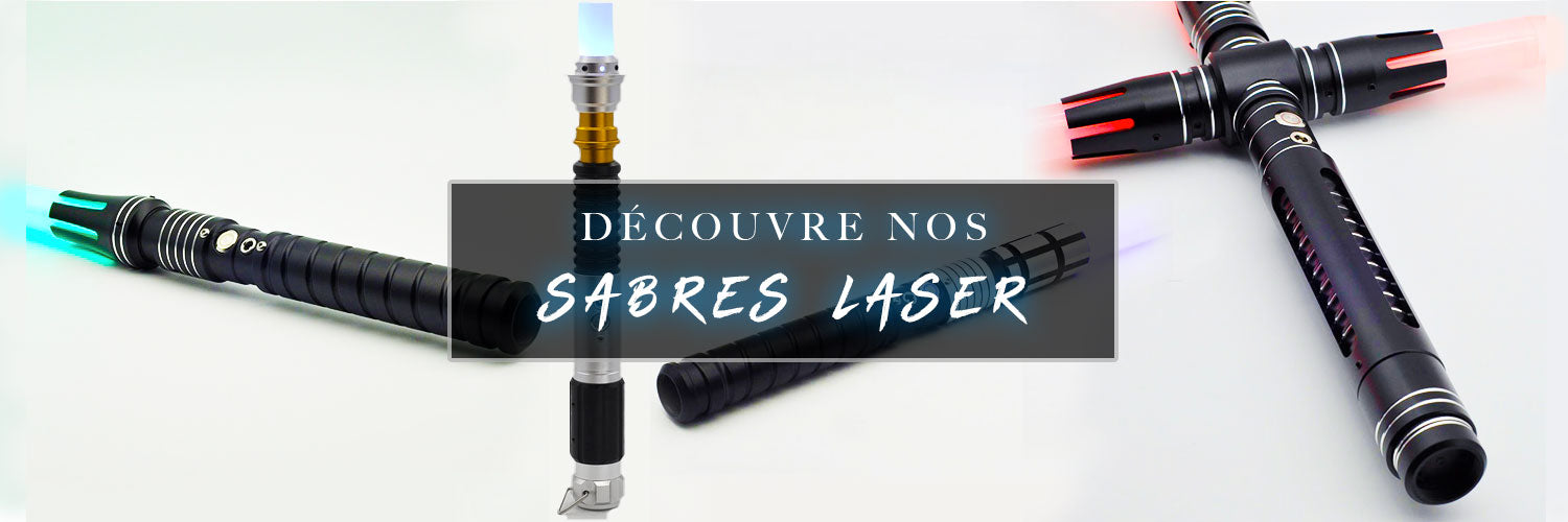 Collection de Sabre Laser