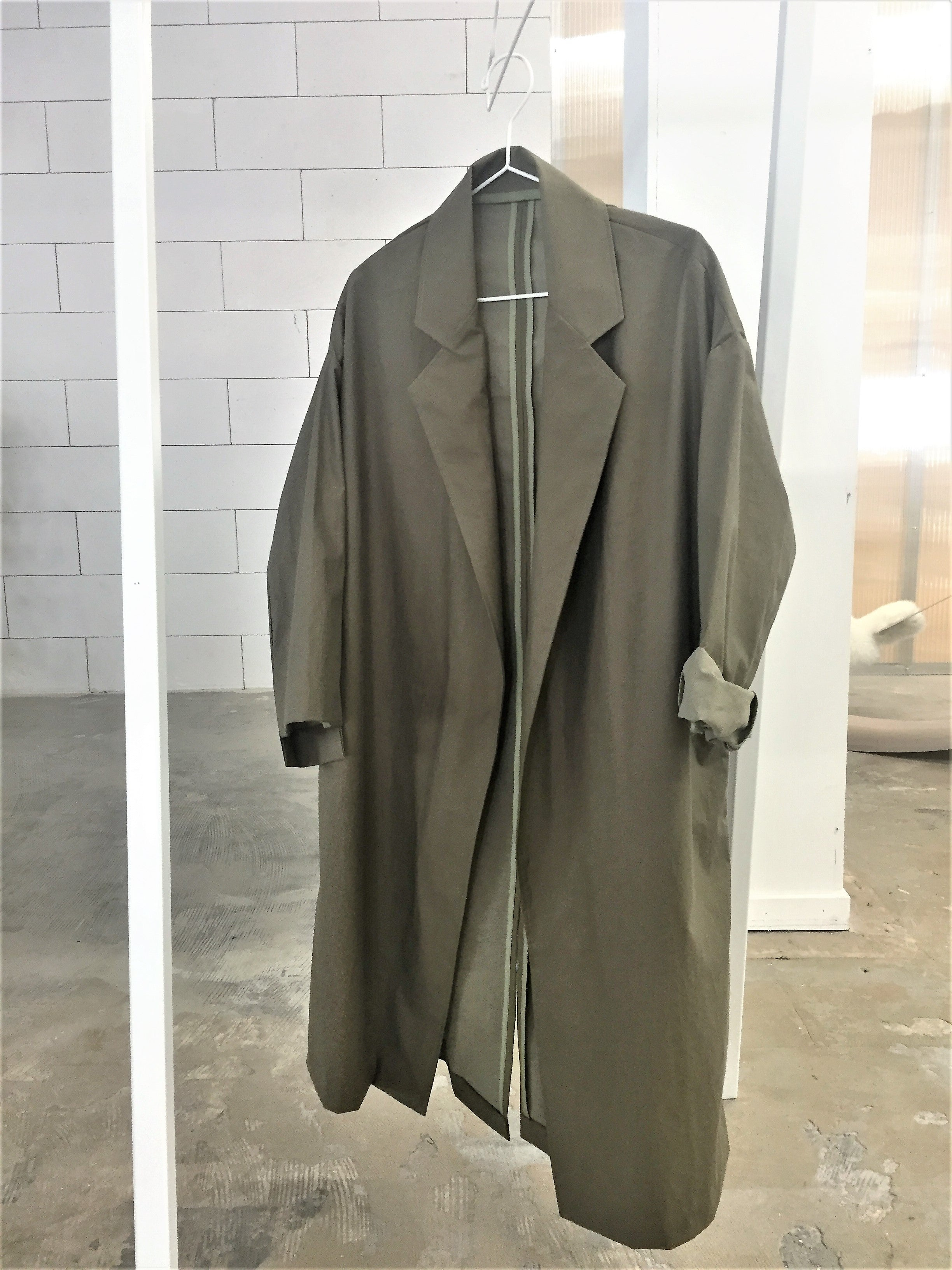 0010 Coat Light - Khaki