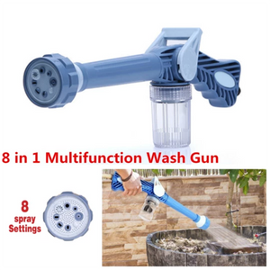 Eight In One Multi-function Watering Flower Car Wash Cleaning Water Gun
