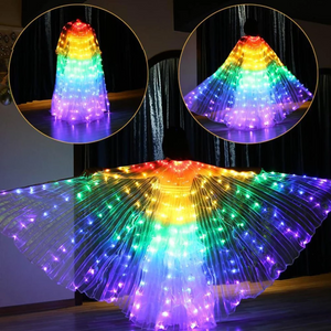 RAINBOW WINGS - LED BUTTERFLY COSTUME