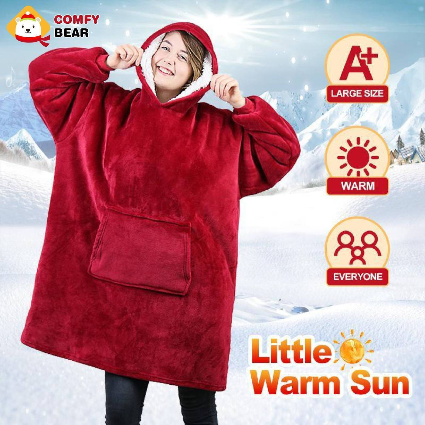 Ultra Soft & Cuddly Wearable Blankets