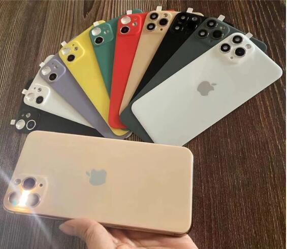 high-quality-Creative lens and back protector For iPhone