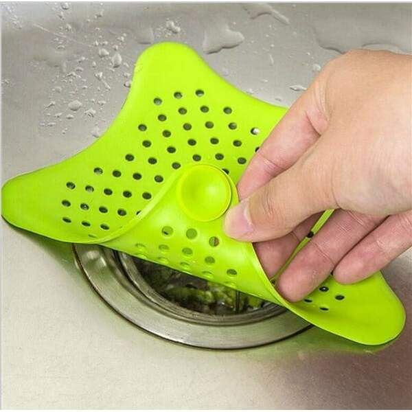Colorful Silicone Kitchen Sink Filter Sewer Drain