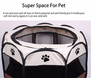 PORTABLE FOLDABLE PET PLAYPEN