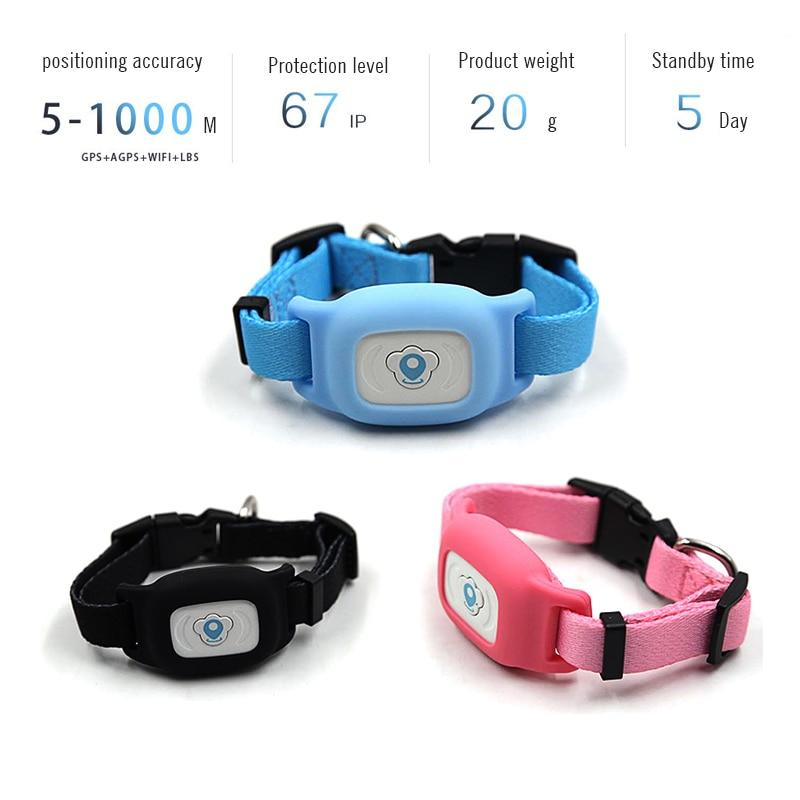 SMART GPS PET COLLAR TRACKER