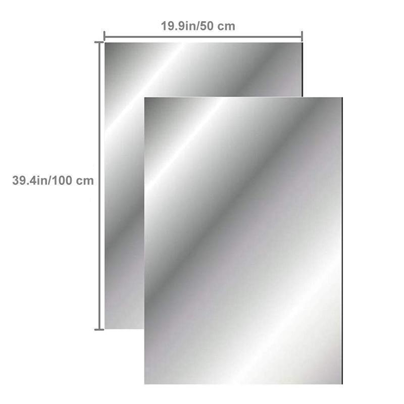 Crystal Mirror Wall Decals