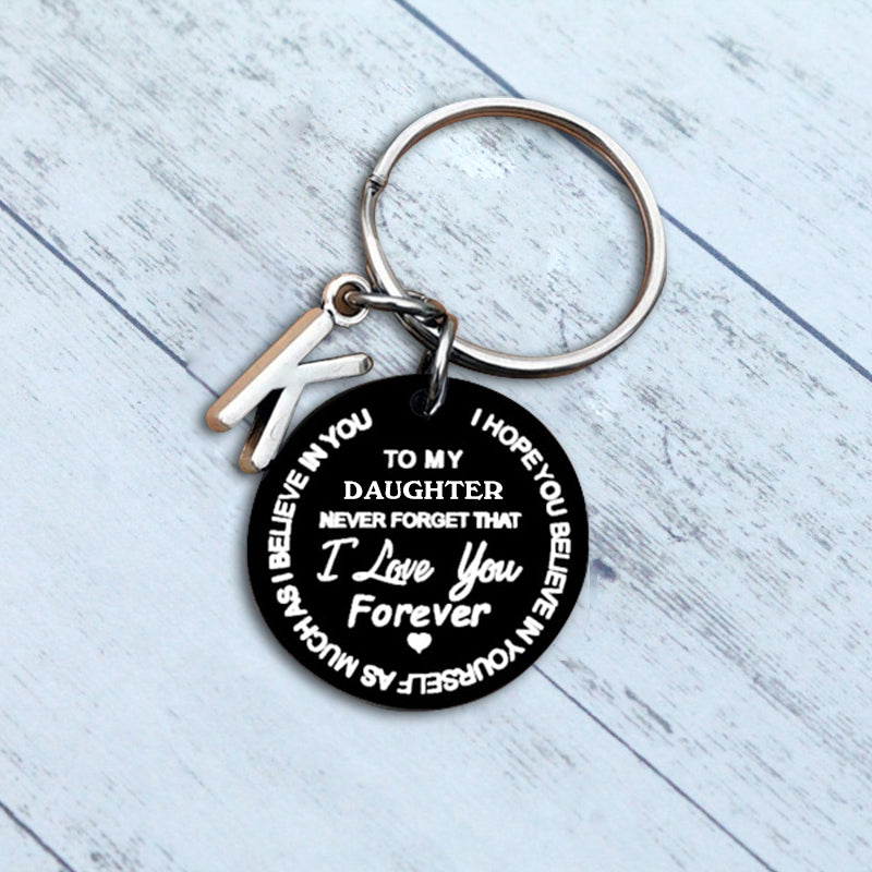 Sank® To My Son/Daughter Keychain Black Version