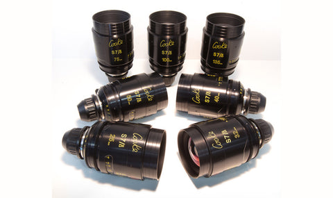 Cooke S7/i Full Frame Plus Primes (25, 32, 40, 50, 75, 100, 135mm)