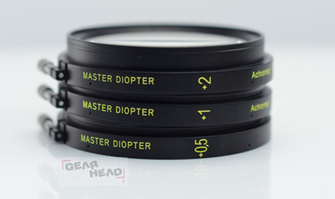 Arri/Zeiss Master Diopters (+0.5, +1, +2)