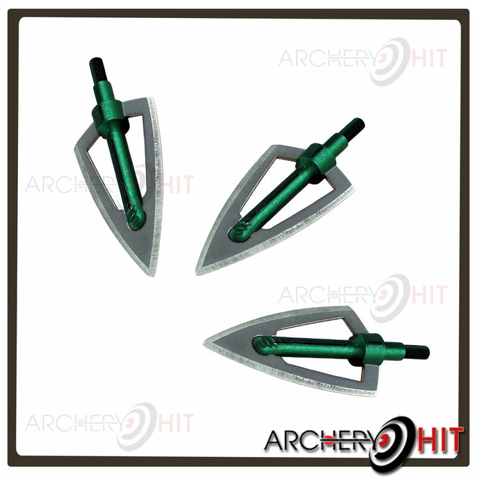 2-Blade Broadheads in package of 3 from Archery Hit
