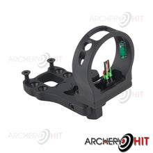 Load image into Gallery viewer, 3 pin sight included in Vulture Compound Bow package from Archery Hit