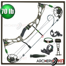 Load image into Gallery viewer, Airbourne 40-70lb Compound Bow Package