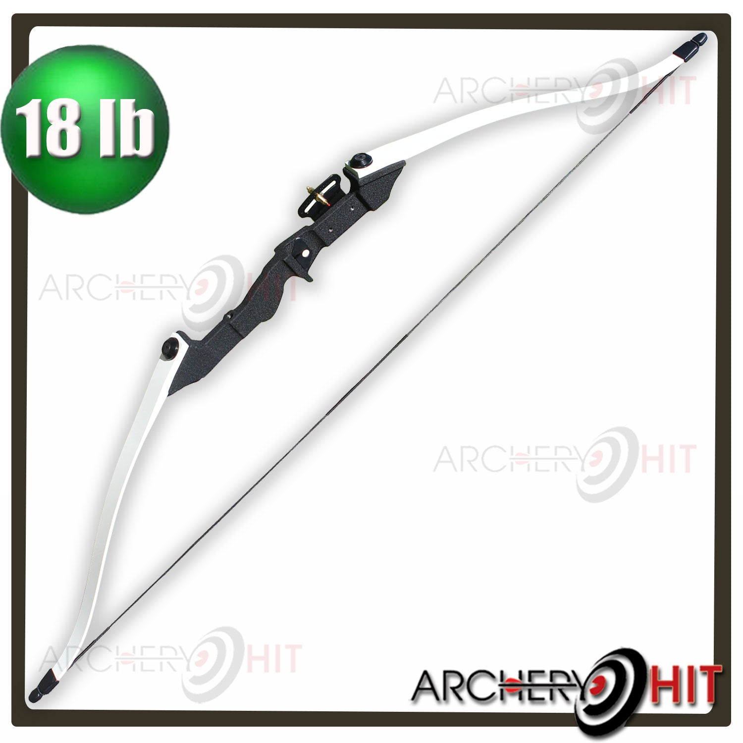 18lb Black Spirit Junior Take-Down Recurve Bow
