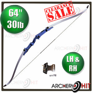 Blue Jazz 30lb Recurve RH and LH