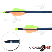 Load image into Gallery viewer, Carbon Arrows that come with Rex Compound Bow from Archery Hit