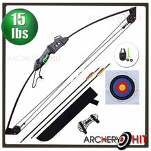Load image into Gallery viewer, Farsight Junior Compound Bow Set from Archery Hit