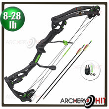 Load image into Gallery viewer, K9 Junior Compound Bow 8-28 pound set from Archery Hit